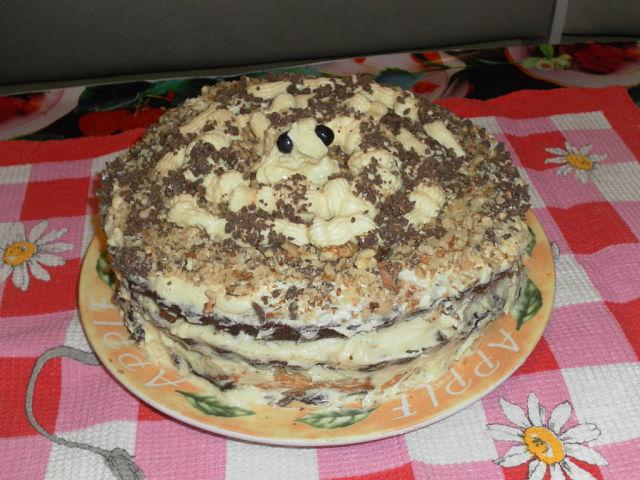 14 бонус торт с глазами