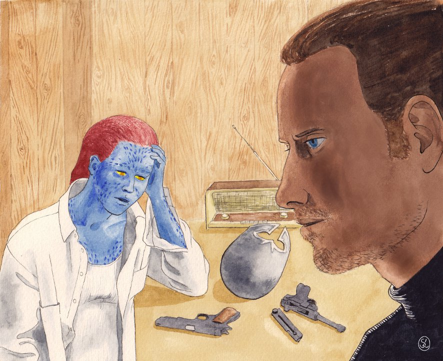 X Men First Class Magneto And Mystique Fanart for X-me...