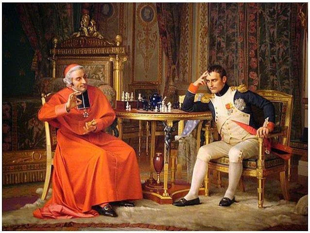 Наполеон и кардинал