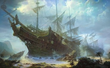 кладбище погибших кораблей