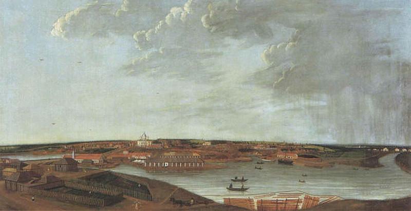 Вид Чермозского завода. Картина худ. И.Н. Полякова. 1837 год.jpg