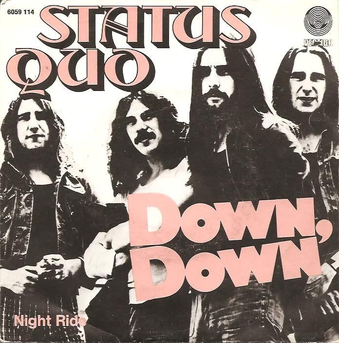 Status Quo - Down down Belgium Cover.jpg