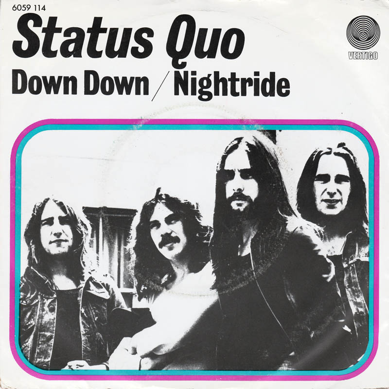 Status Quo - Down down Netherland Cover.jpg