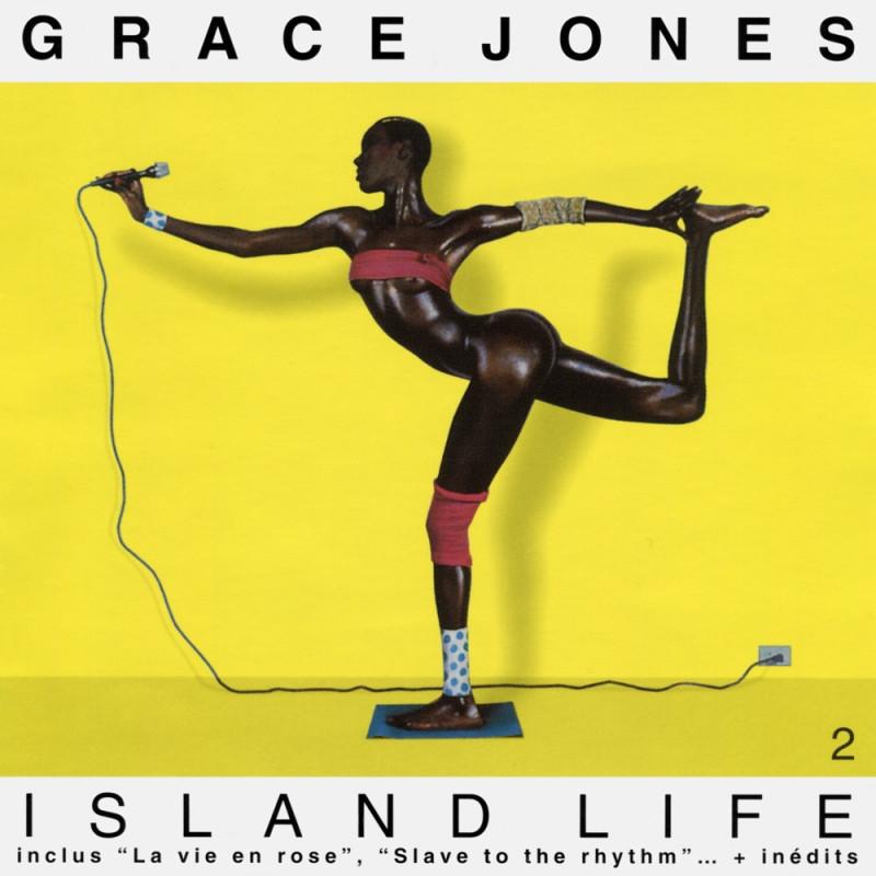 Как делали обложки пластинок, когда фотошопа ещё не было Grace Jones - Island Life 2.jpg