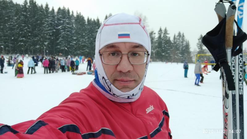 Антон Толмачев на лыжной базе Динамо, Пермь, 12 января 2020 года.jpg