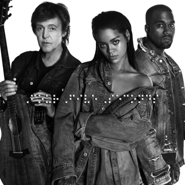 Rihanna, Kanye West, Paul McCartney - FourFiveSeconds.jpg