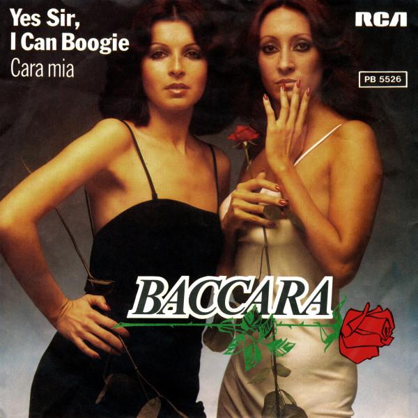 Baccara – Yes Sir, I Can Boogie - Cara Mia.jpg