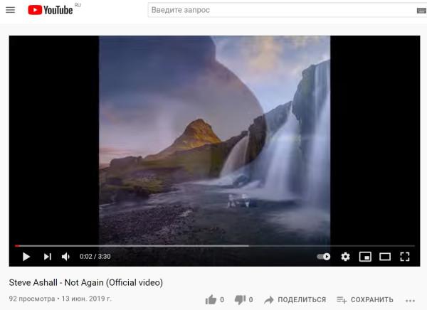 Steve Ashall - Not Again (Official video) 92 просмотра.jpg