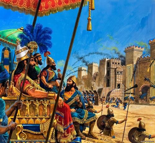 Невероятные события в Парфянском царстве