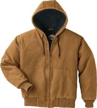 Cabela's Roughneck Canvas Hooded Work Jacket