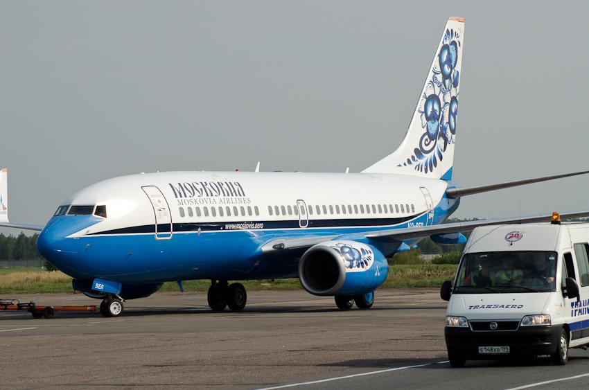Boeing 737 VQ-BER