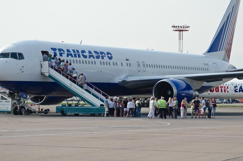 Boeing 767 EI-UNC
