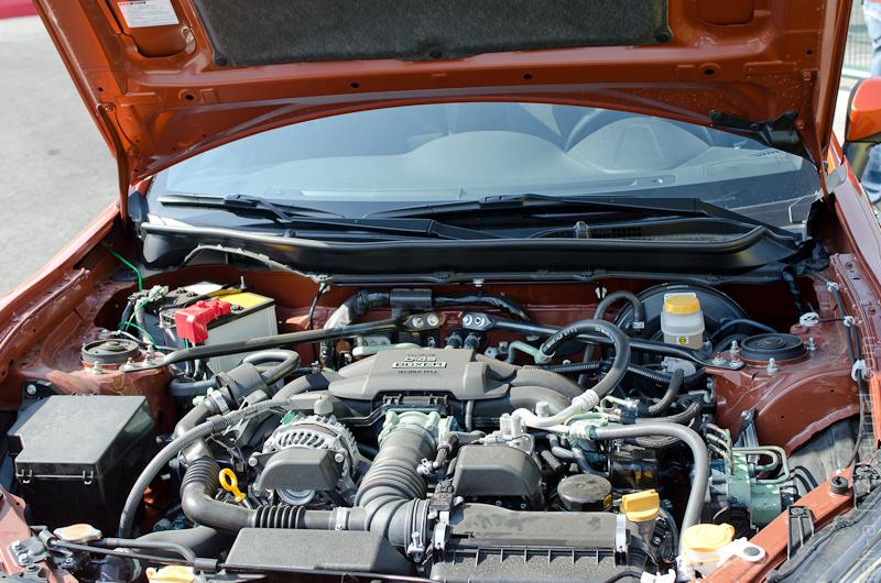 двигатель Toyota GT86 subaru FB20