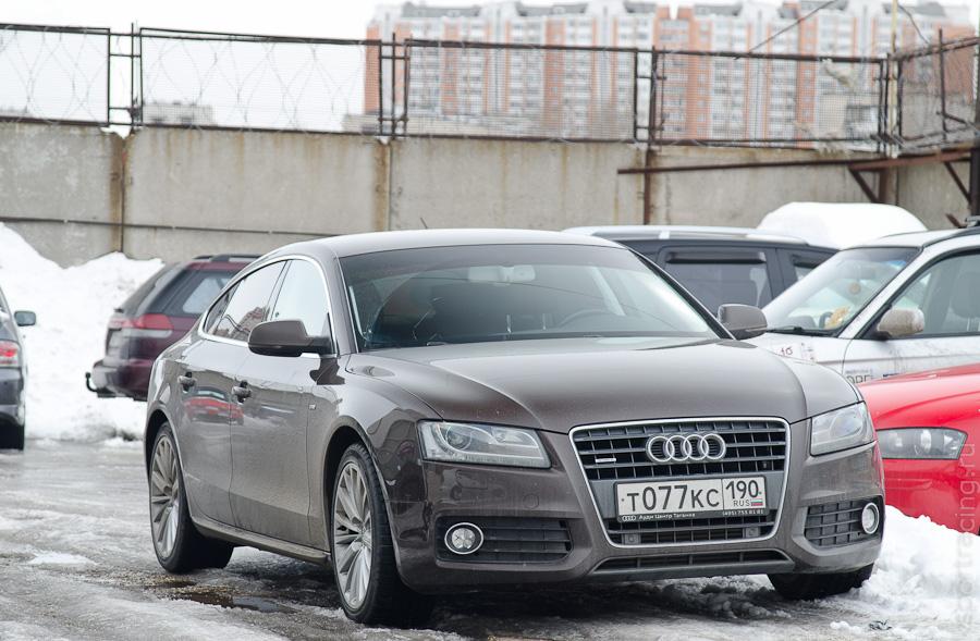 Audi A5 перез заменой тормозов в Локал Авто