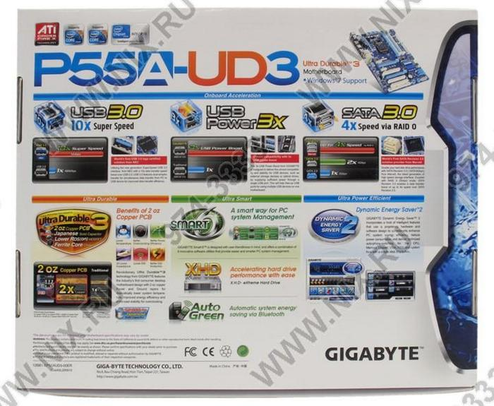 Gigabyte GA-P55A-UD3