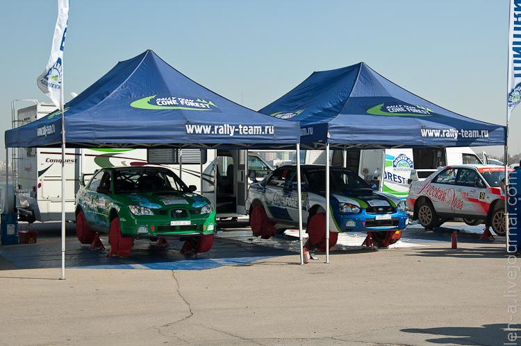 Шишкин Лес на Rally Masters Show 2011.
