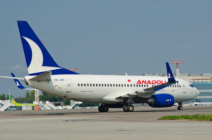 Boeing 737 TC-JKI