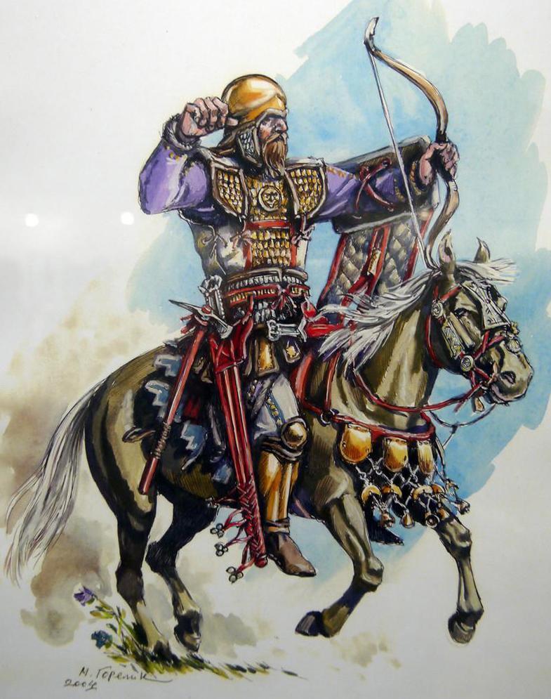 Скифский дружинник, 4 в.до н.э.