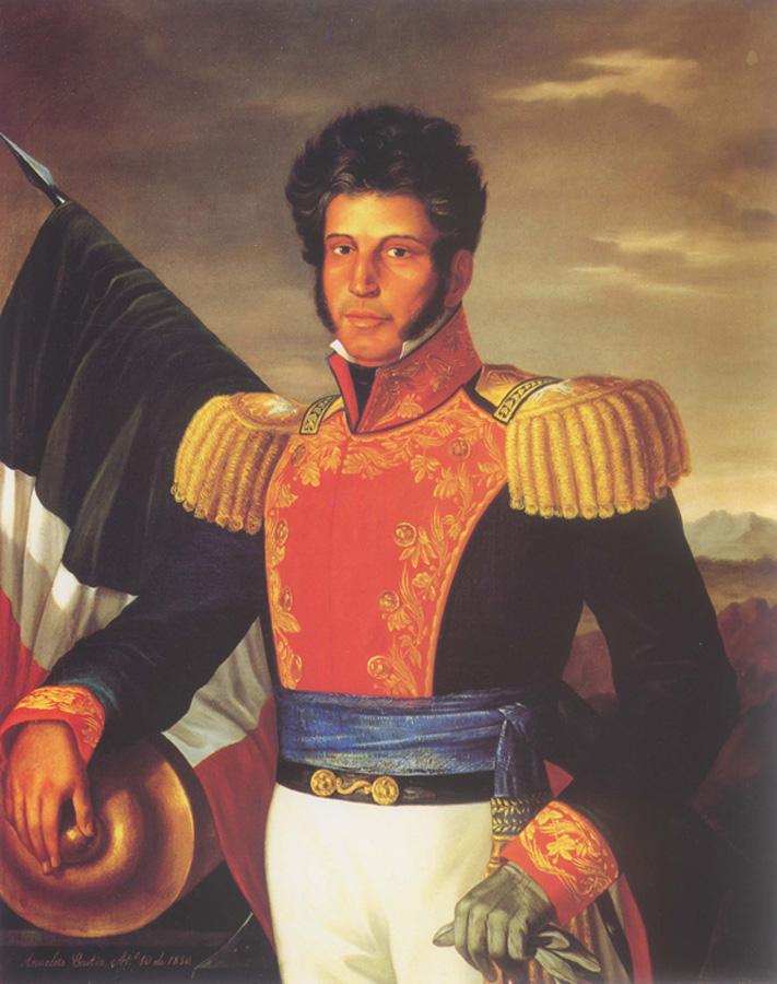 Vicente Guerrero by Anacleto Escutia (1850)