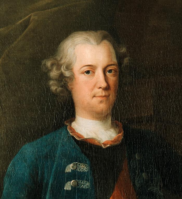 Carlo Francesco Rusca, Kronprinz Friedrich und seine Brüder, 1737, SPSG, Schloss Königs Wusterhausen, GK I 2982