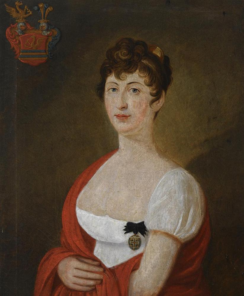 PORTRAIT OF MARIA ANNA JOSEPHA SOPHIA AUGUSTA ANTONIA TÄNZL, FREIFRAU VON TRAZBERG (1757-1832)