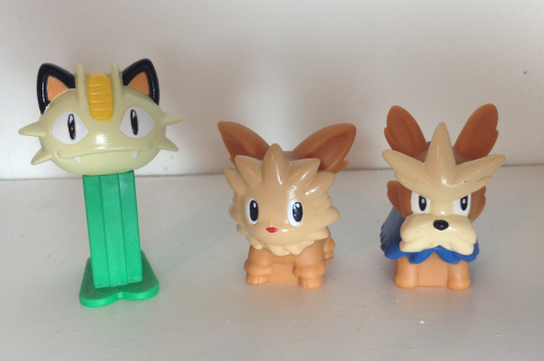 Meowth Lillipup Herdier