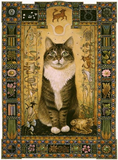 Кошка-оберег для Тельца
