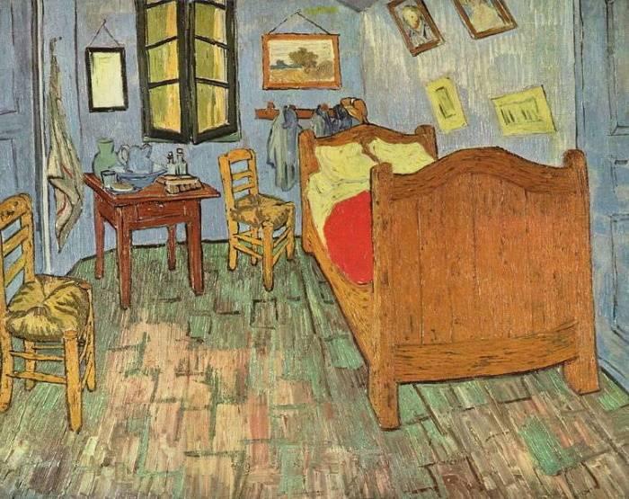 «Спальня в Арле», Винсент Ван Гог, 1889 г.