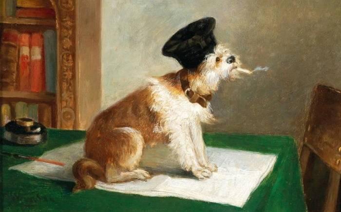 «Умная собака», Никез де Кейзер, XIX век.