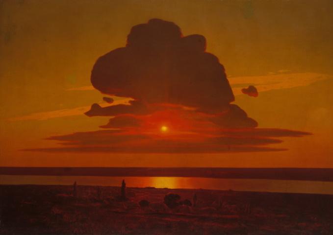 Архип Куинджи, «Красный закат»