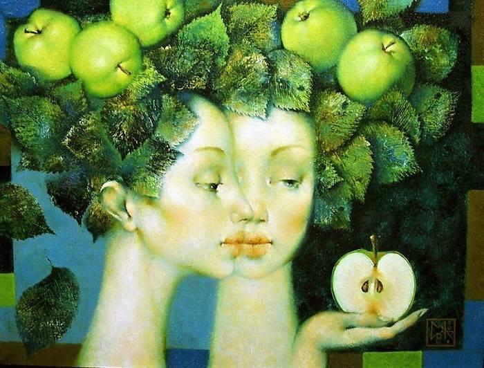 «Лето», Ирина Котова, живопись, 2007 г.