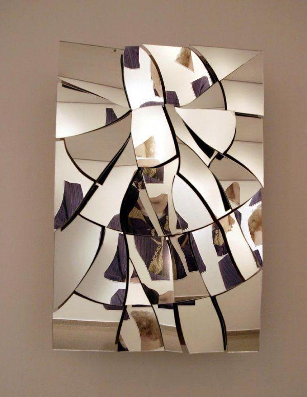«Разбитое красное зеркало», Даниэль Розин (Daniel Rozin)