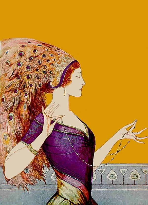 «Павлиний хвост», Кларенс Коулз Филлипс.
