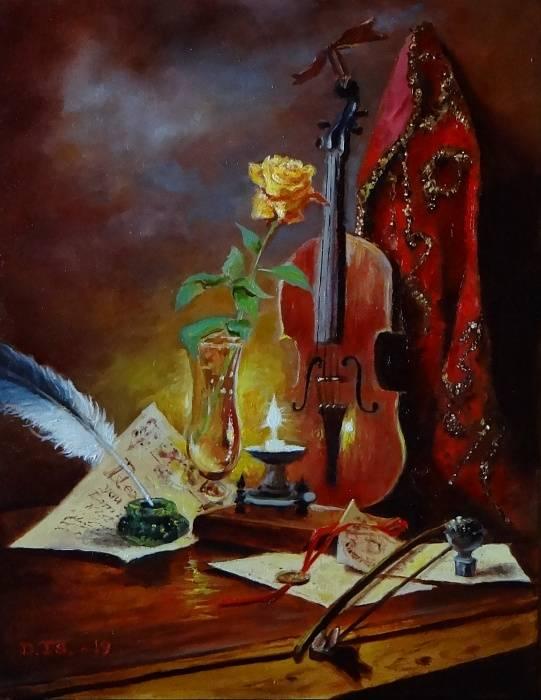 «Скрипка», Валерий Петров, 2019 г.