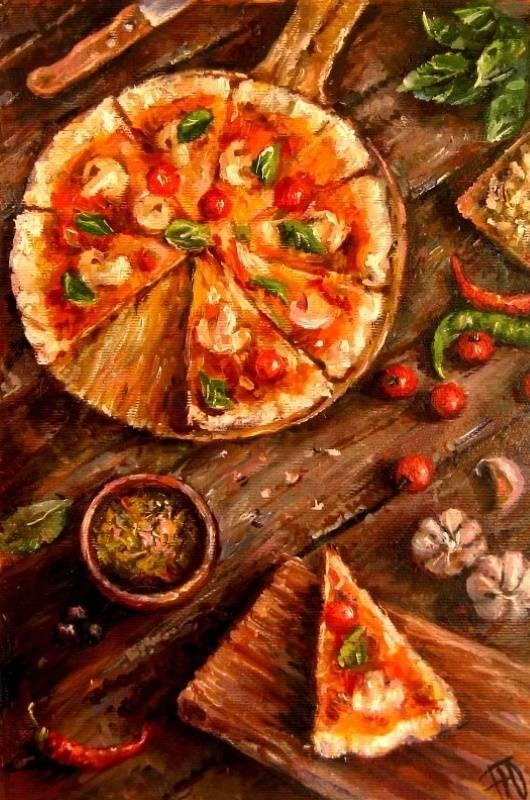 «Пицца», Юлия Перепёлкина, 2019 г.
