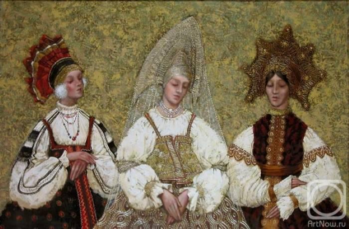 «Три девицы», Сергей Поляков
