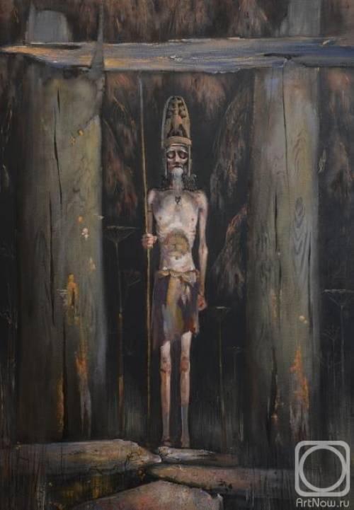 «Финоугорский колдун из триптиха Берег», Андрей Назаров