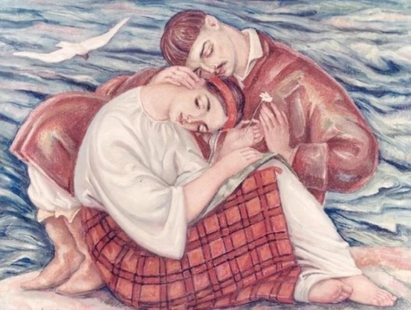 «Закохані», Михайло Дмитренко (1908-1997).