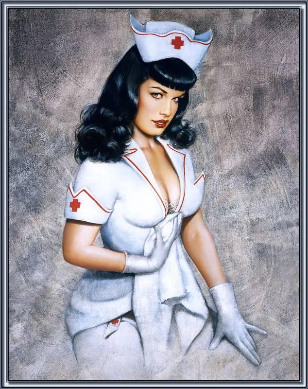 «Медсестра», Оливия Де Берардинис.