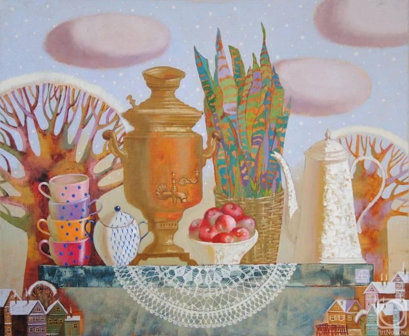 «Первый снег», Анастасия Бодрова