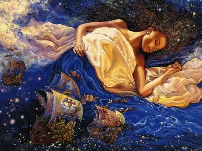«Сказочные сны», Жозефина Волл.