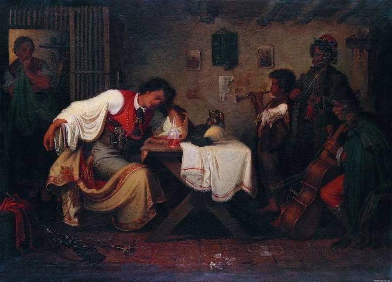 «Горюющий разбойник», Михай Либ Мункачи.