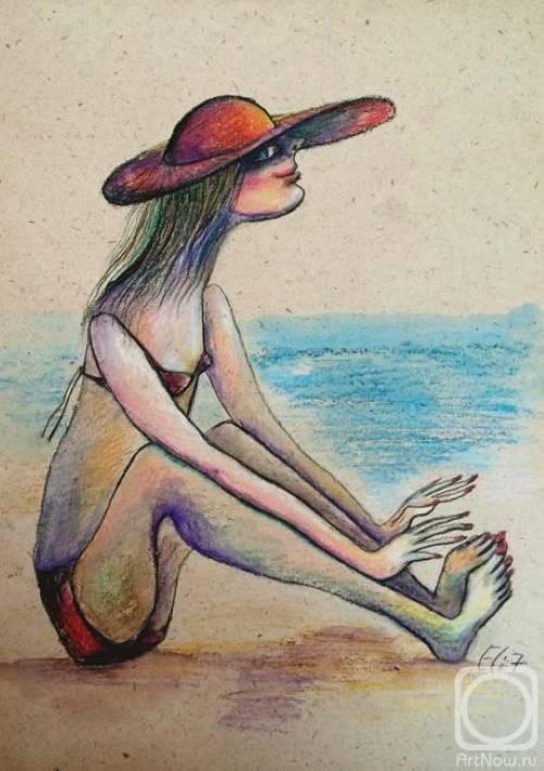 «В засаде на Тель-Авивском пляже», Элишева Несис-Михайличенко.