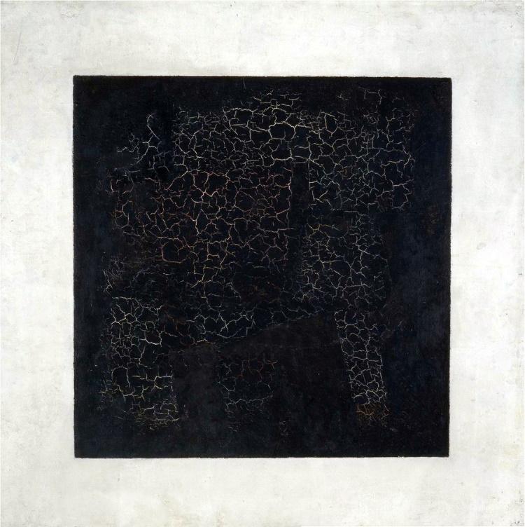«Черный супрематический квадрат», Казимир Малевич.