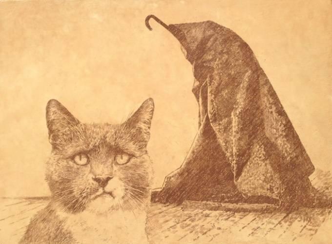 «Музейный кот», Владимир Колесников