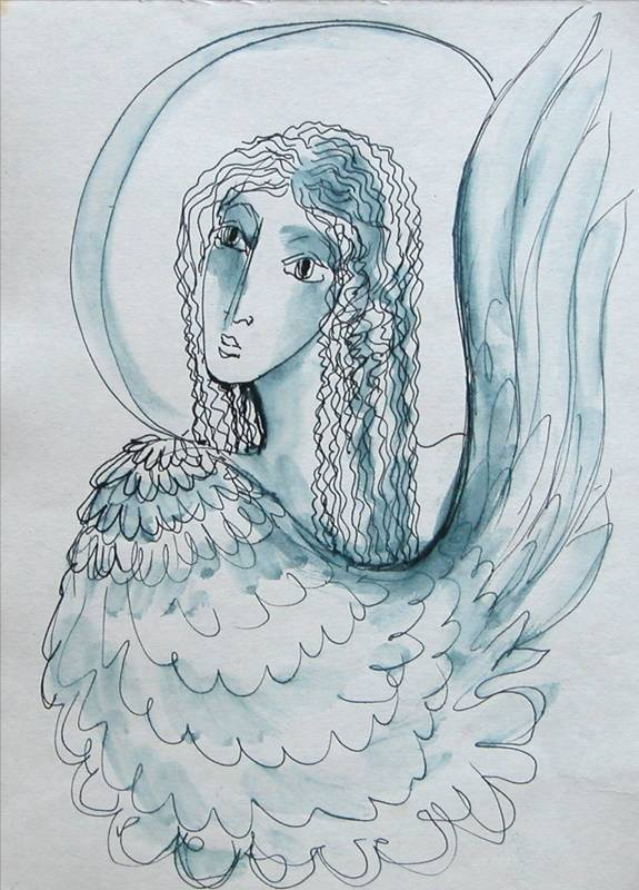 «Крылатый ангел», Антонина Стреленко