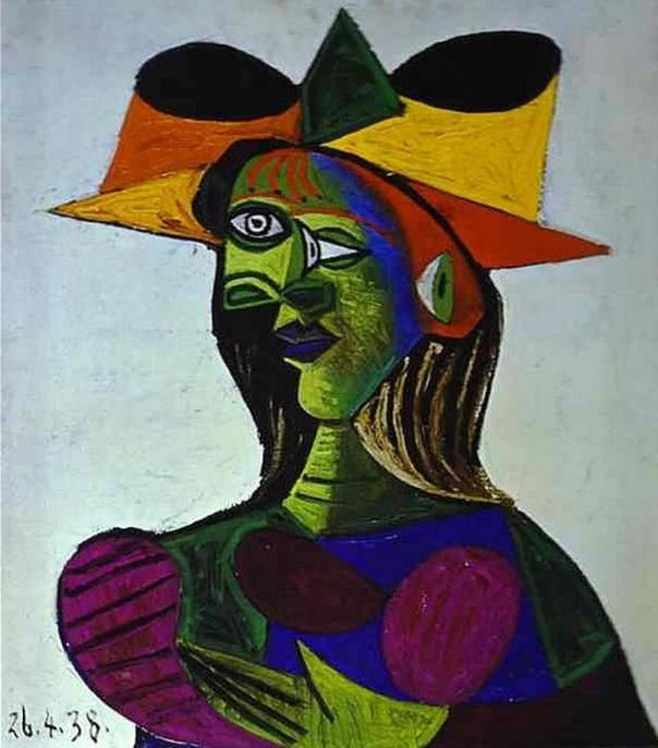 «Портрет Доры Маар», Пикассо