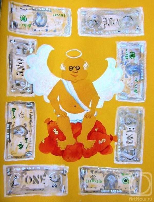 «Ангел богатства и достатка», Ольга Песчаная