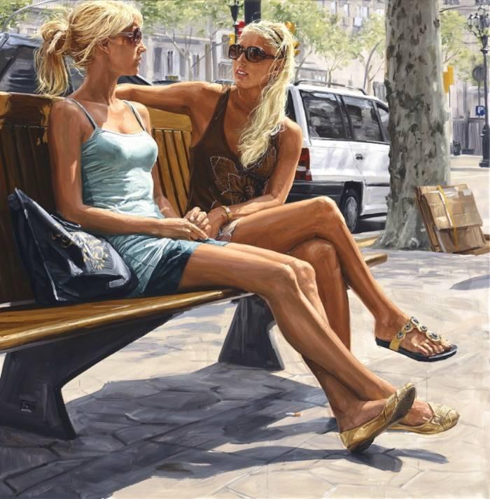 «Две блондинки», Мишель Дель Кампо