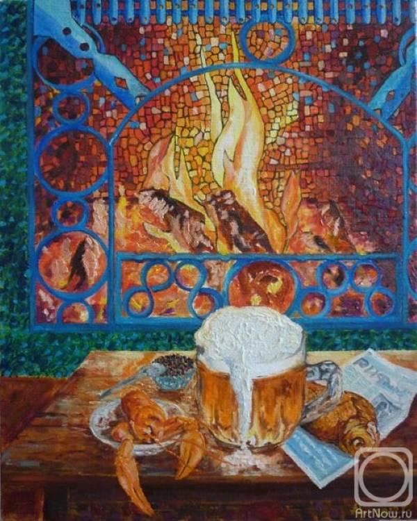 «У камина», Александр Цыганков